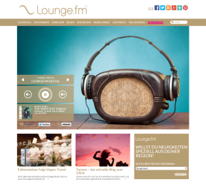 Lounge.fm Home