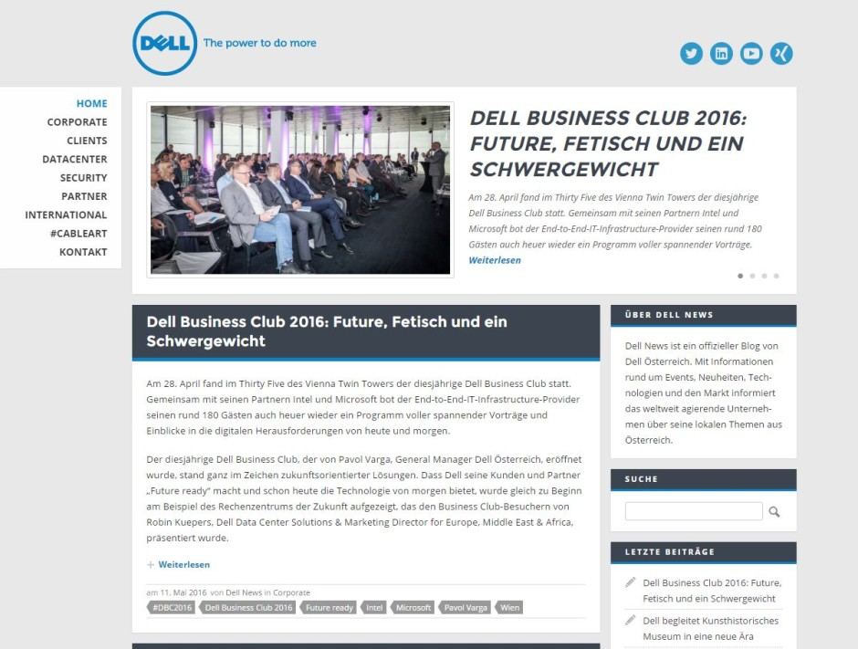 Dellnews.at Offizieller Dell Blog