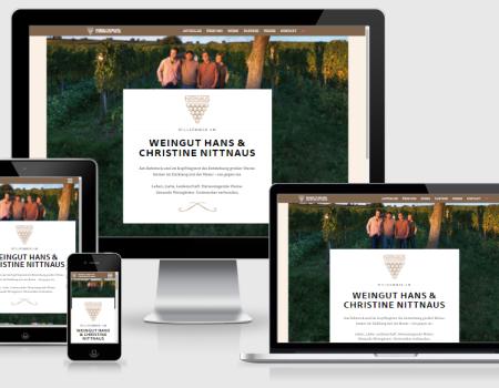 nittnaus.net Weingut Webseite